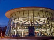 Exterior view of the Cleveland History Center and historic carousel