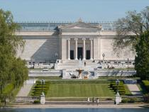 Exterior view of the Cleveland Museum of Art