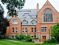 Exterior of building in Mather Quad
