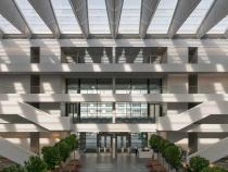 Health Education Campus Interior photo of atrium