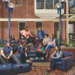 Case Western Reserve University group photo of students