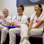 Nursing Students Laughing