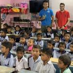 CWRU students Kareem Agag and Aayush Parikh help bring electricity and clean water to schools in India.