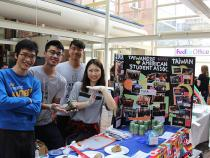 Taiwanese American Student Association booth over at TInk