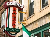 Corbos bakery sign