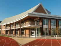 Exterior of Wyant gym
