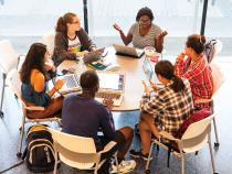 Students gather to collaborate at Case Western Reserve University