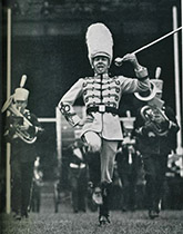 image of Marching band leader