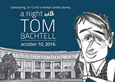 A Night With Tom Bachtell Poster