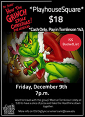 The Grinch Who Stole Christmas Musical Poster