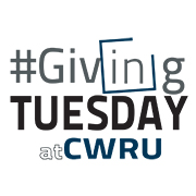 image of #Giving Tuesday  at CWRU logo
