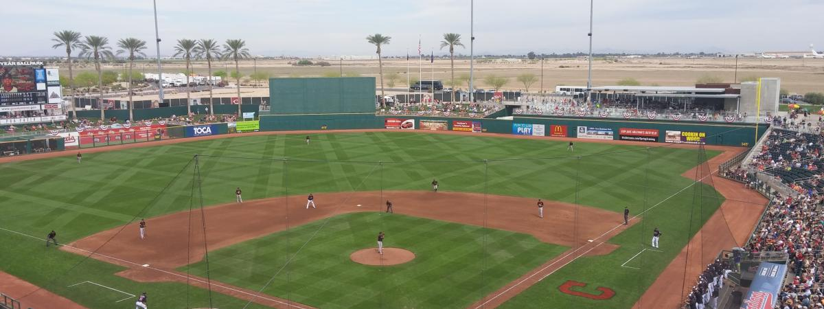 Image of field at Goodyear Ballpark