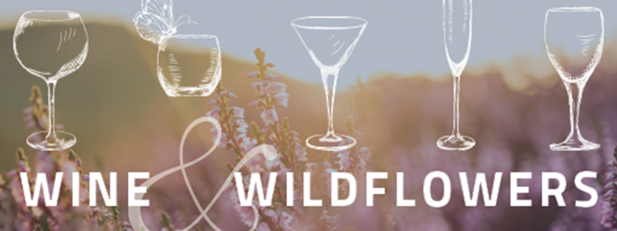 Wine and Wildflowers graphic identifier