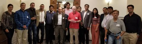 CWRU Alumni Gather for an Event in Mumbai, India