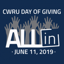 CWRU Day of Giving Logo for June 11, 2019