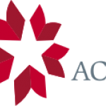 red and white star logo with letters ACLS to the right