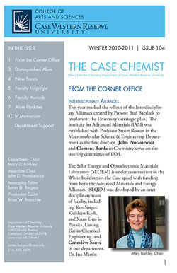 Case Chemist newsletter thumbnail
