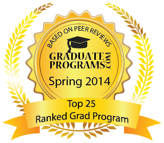 graduateprograms.com Top 25 Seal