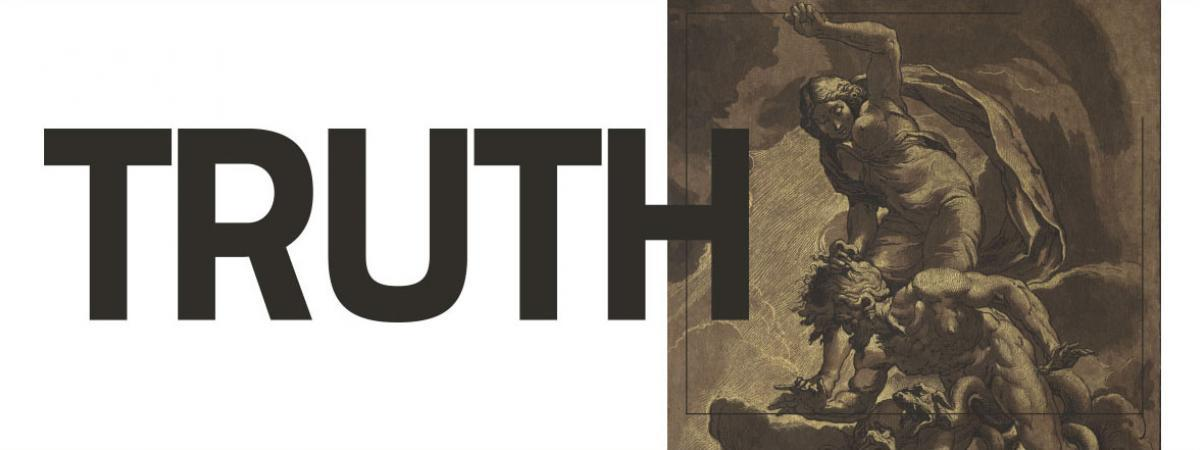 Cleveland Humanities Festival 2020: Truth Logo