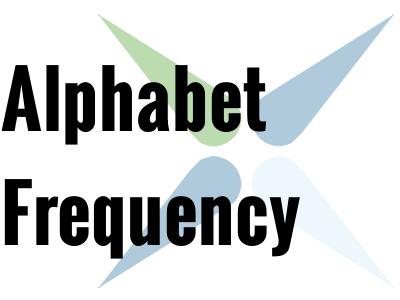 Alphabet Frequency