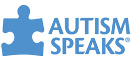 Autism Speaks Logo, blue with puzzle piece