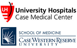 UH Case Medical Center and CWRU School of Medicine Logos