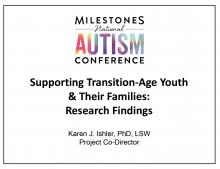 Milestones National Austism Conference