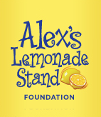 Logo for the Alex's Lemonade Stand Foundation with lemons