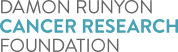 Logo for the Damon Runyon Cancer Research Foundation