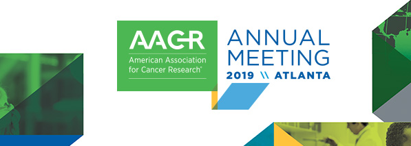 Banner for the AACR 2019 Annual Meeting