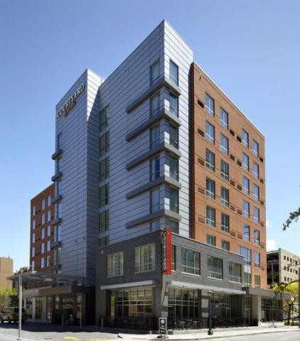 Exterior image of Courtyard by Marriott Cleveland University Circle