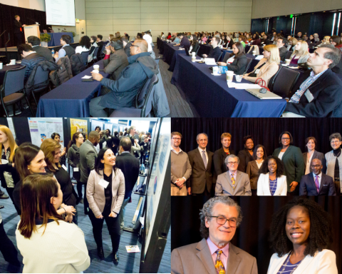 Collage of photos from the 3rd Annual Cancer Disparities Symposium
