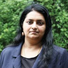 Portrait of Reshmi Parameswaran, MS, PhD