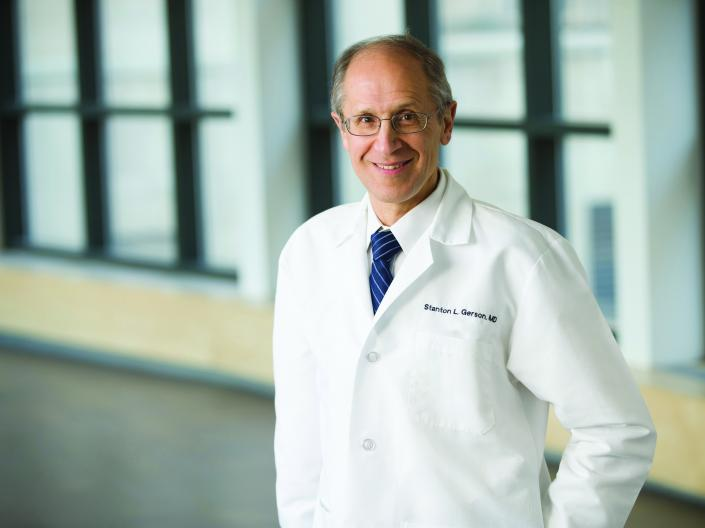Image of Stan Gerson, MD in white coat