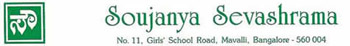 Logo for Soujanya Sevashrama, No. 11 Girls' School Road, Mavalli, Bangalor 560 004
