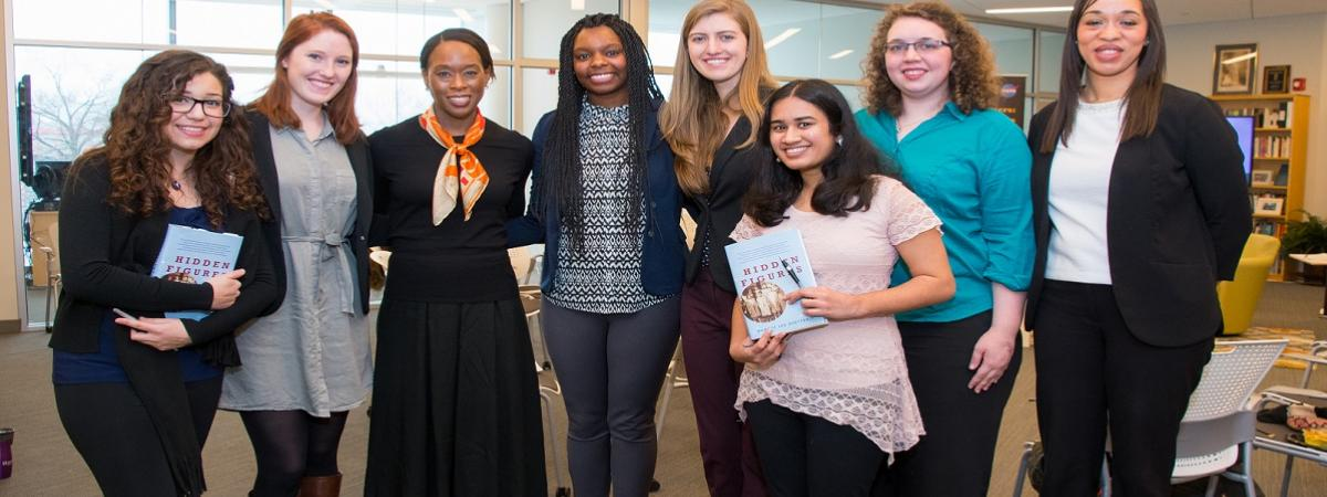 WISER members Meet and Greet with Margot Lee Shetterly (author of the book Hidden Figures)