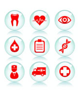 Health-related icons