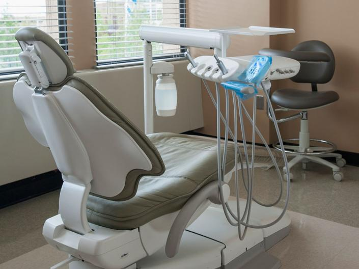 Dental chair and equipment