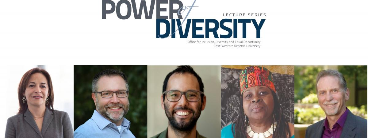 Power of Diversity Lecture Series speaker photos