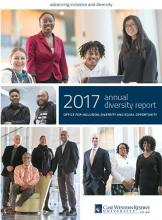 front page of the 2017 annual report.