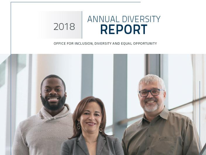 2018 Annual Diversity Report Cover