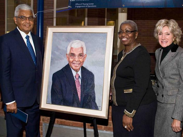 Trailblazer Project Showcases Contributions of Alumni of Color With Portraits Across Campus