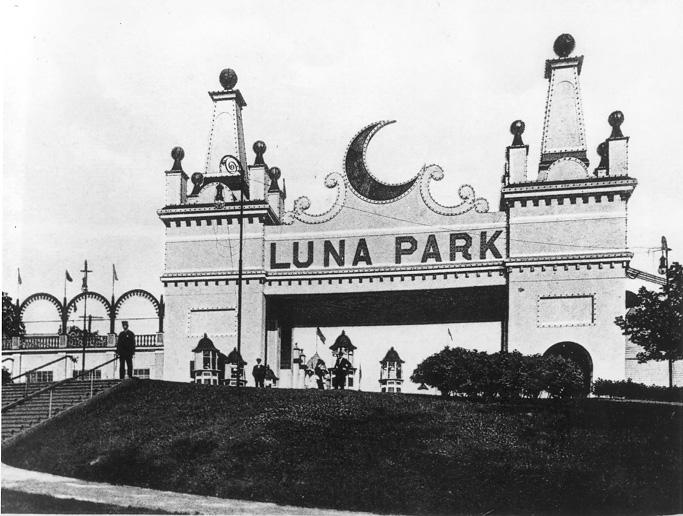The Entrance to Luna Park, ca. 1910s. WRHS.