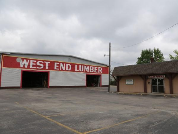 Photo of West End Lumber taken in 2019