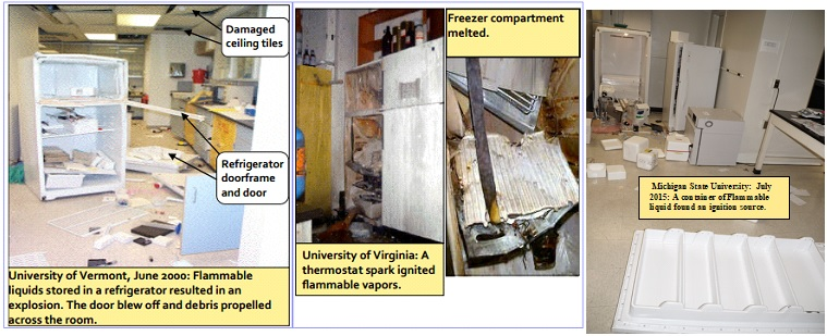 Picture of Exploded Refrigerators