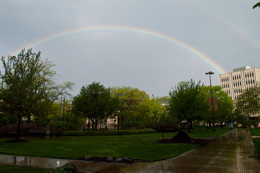 double rainbow CWRU