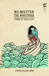 "The cover of Sarah Kay's book ""No Matter the Wreckage"""