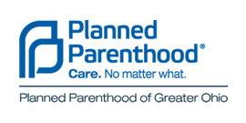 Planned Parenthood Logo, care no matter what. Planned Parenthood of Greater Ohio.
