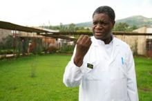 Photo of physician and human rights activist Denis Mukwege
