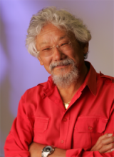 Headshot of environmentalist David Suzuki